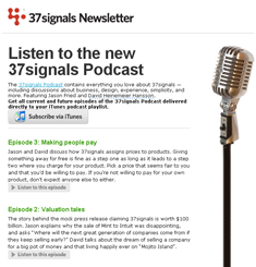 37 Signals Newsletter