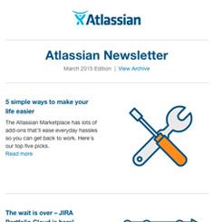 Atlassian Newsletter