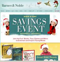 Barnes and Noble Newsletter