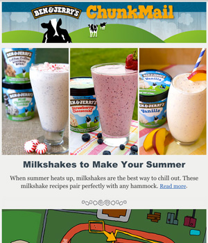 Ben & Jerry's Newsletter