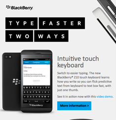 Blackberry Newsletter