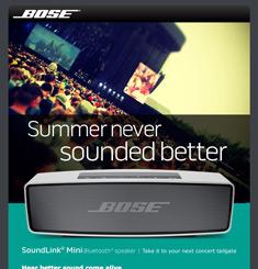 Bose Newsletter