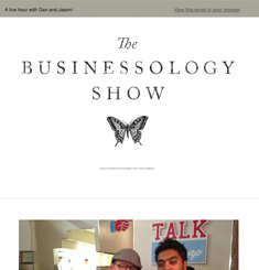 Businessology Show Newsletter