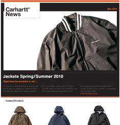 Carhartt Street Wear Newsletter
