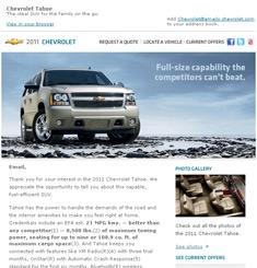 Chevrolet Newsletter