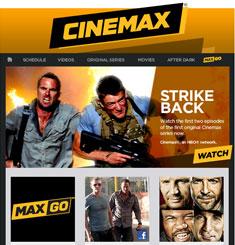 Cinemax Newsletter