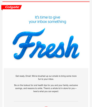 Colgate Newsletter
