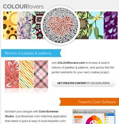 Colour Lovers Newsletter