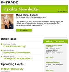 eTrade Newsletter