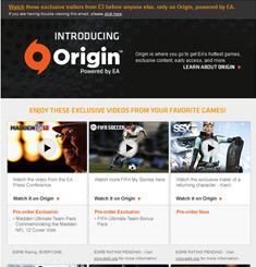 Origin Newsletter