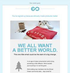 Ethical Ocean Newsletter