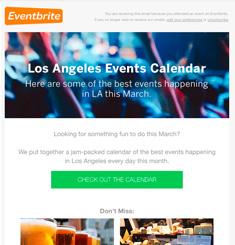 Event Brite Newsletter