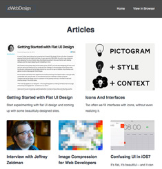 eWeb Design Newsletter