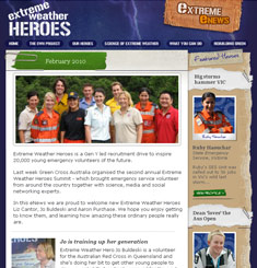 Extreme Weather Heroes Newsletter
