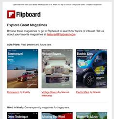 Flip Board Newsletter