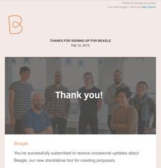 Get Beagle Newsletter
