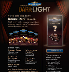 Ghirardelli Newsletter