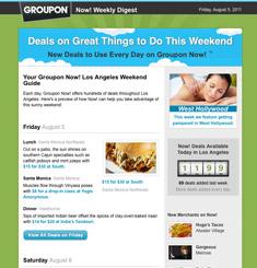 Groupon Newsletter