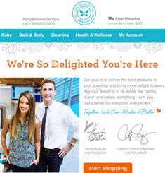 The Honest Company Newsletter