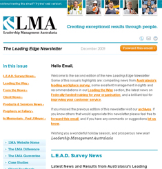 LMA Newsletter