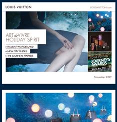 Louis Vuitton Newsletter