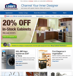 Lowe's Newsletter