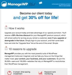 Manage WP Newsletter