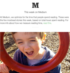 Medium Newsletter