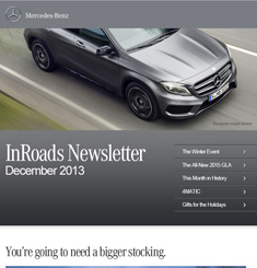 Mercedes Benz Newsletter