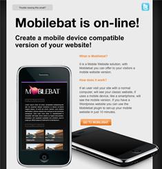 Mobile Bat Newsletter