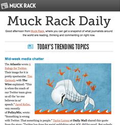 Muck Rack Newsletter