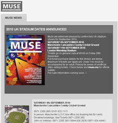 Muse Newsletter