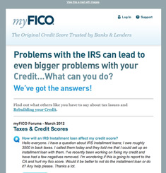 My Fico Newsletter
