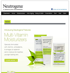 Neutrogena Newsletter