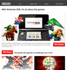 Nintendo Newsletter