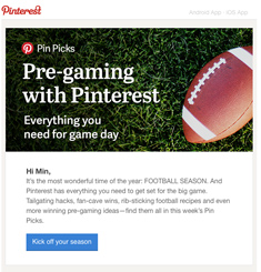 Pinterest Newsletter