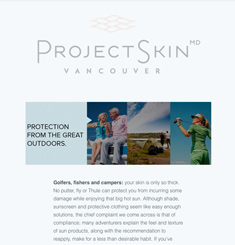 Project Skin MD Newsletter