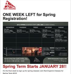 Red Engine Studios Newsletter