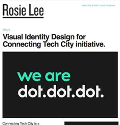 Rosie Lee Newsletter