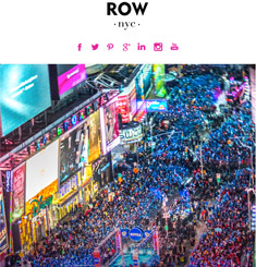 Row NYC Newsletter