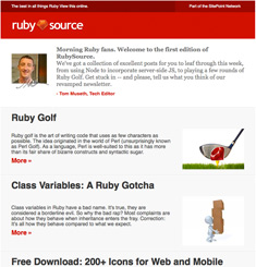 Ruby Source Newsletter