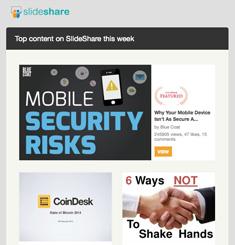 Slide Share Newsletter