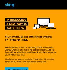 Sling Newsletter