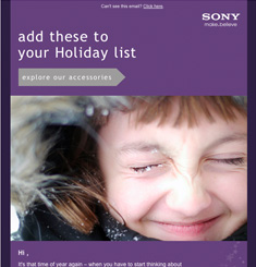 Sony Mobile Newsletter
