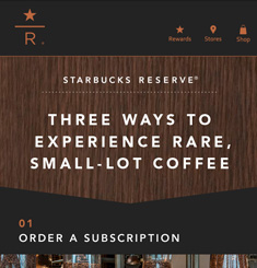 Starbucks Coffee Newsletter