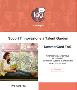 Talent Garden Newsletter