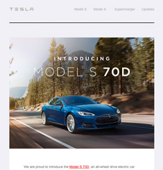 Tesla Newsletter
