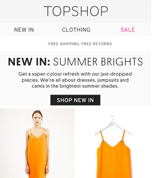 Top Shop Newsletter