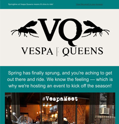 Vespa Queens Newsletter