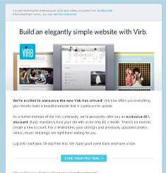 Virb Newsletter